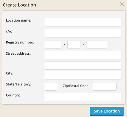 Create Location